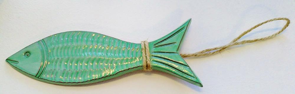 ceramic-fish-green